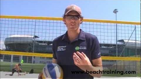 How to set a beach volleyball part 2 of 3