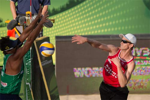 What makes a beach volleyball team great?