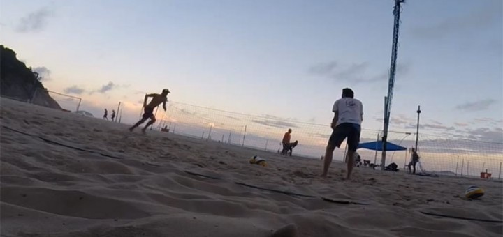 Beach Volleyball fitness session with Xandi Huber