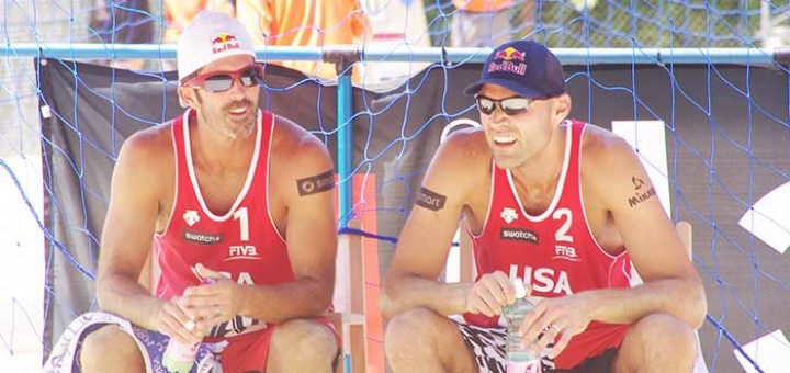 How to turn a beach volleyball match